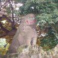 大杉天祖神社の狛犬2
