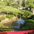 松本弁天の庭園