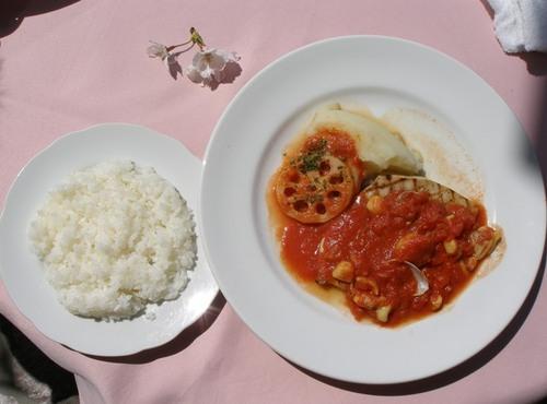 イタリアンレストラン「レプロット」4 テラスでお花見ランチ