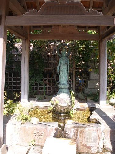 光蔵寺の観音様
