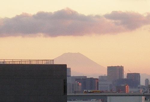 '07/8/12の富士山